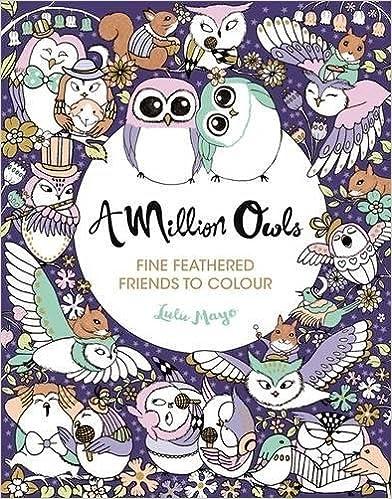 A Million Owls (Colouring Books)