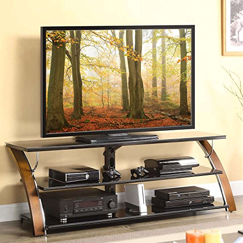 3-Shelf Tabletop Console for TVs up to 70