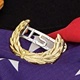 K EXCLUSIVE Gold Civil War US Cavalry Union Leaf Hat Pin Review