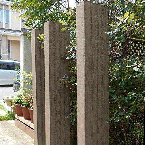 igarden アイガーデン 枕木 ダークブラウン 210cm3本セット アイウッド人工木製 B01J9EDJPU 17800