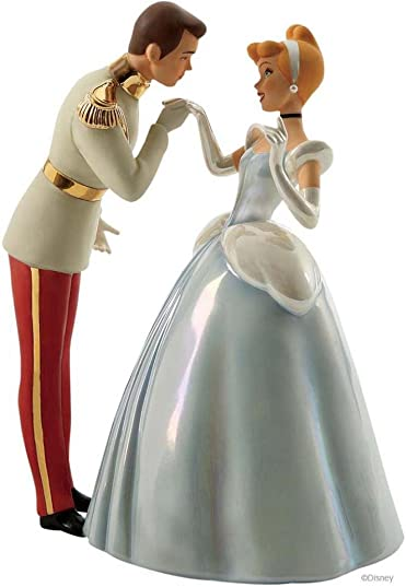 WDCC Cinderella and Prince 60th Anniversary Edition ROYAL INTRODUCTION From Cinderella by Walt Disney Classics Collection