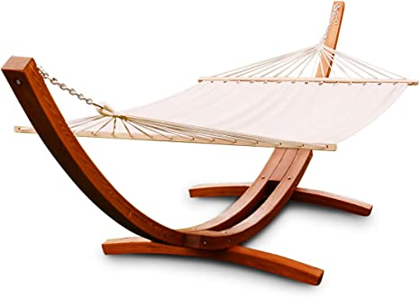 Giantex 13 Ft Hammock Stand Chair With Cozy Cotton Fabric