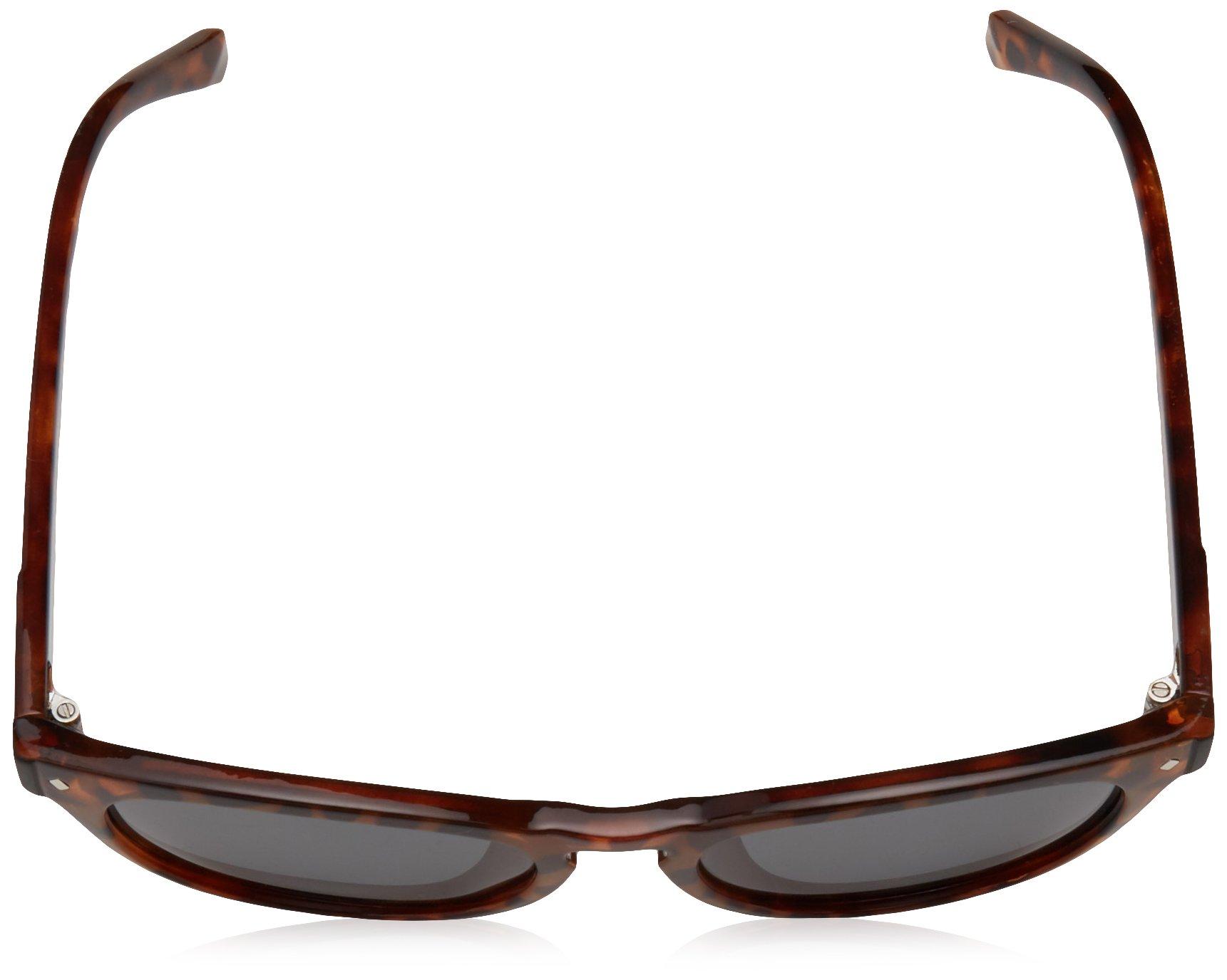 Polaroid Sunglasses Girls' Pld8026fs Polarized Oval Sunglasses, DKHAVANA, 49 mm by Polaroid Sunglasses (Image #4)