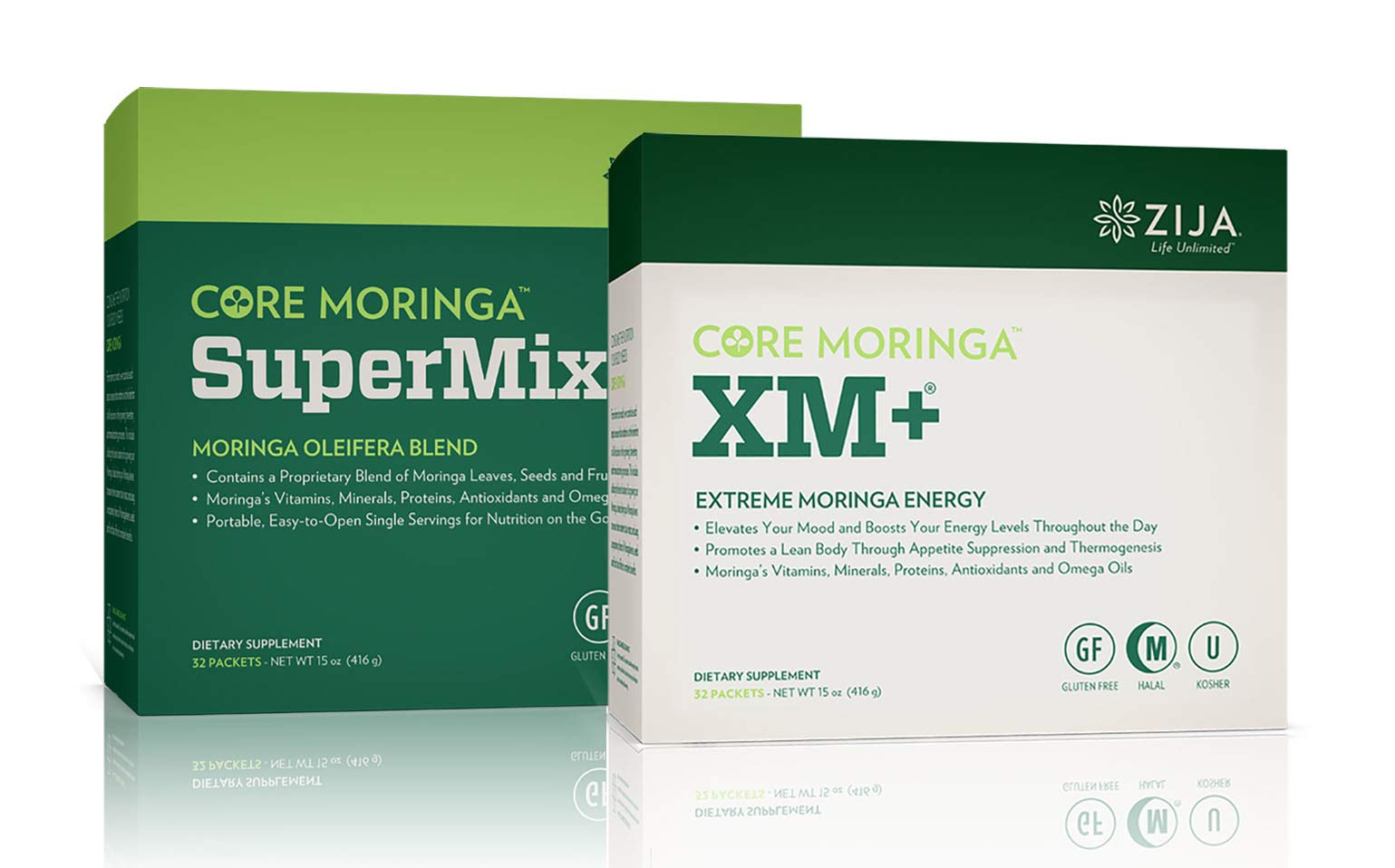 Zija Supermix Pure Moringa & XM Plus