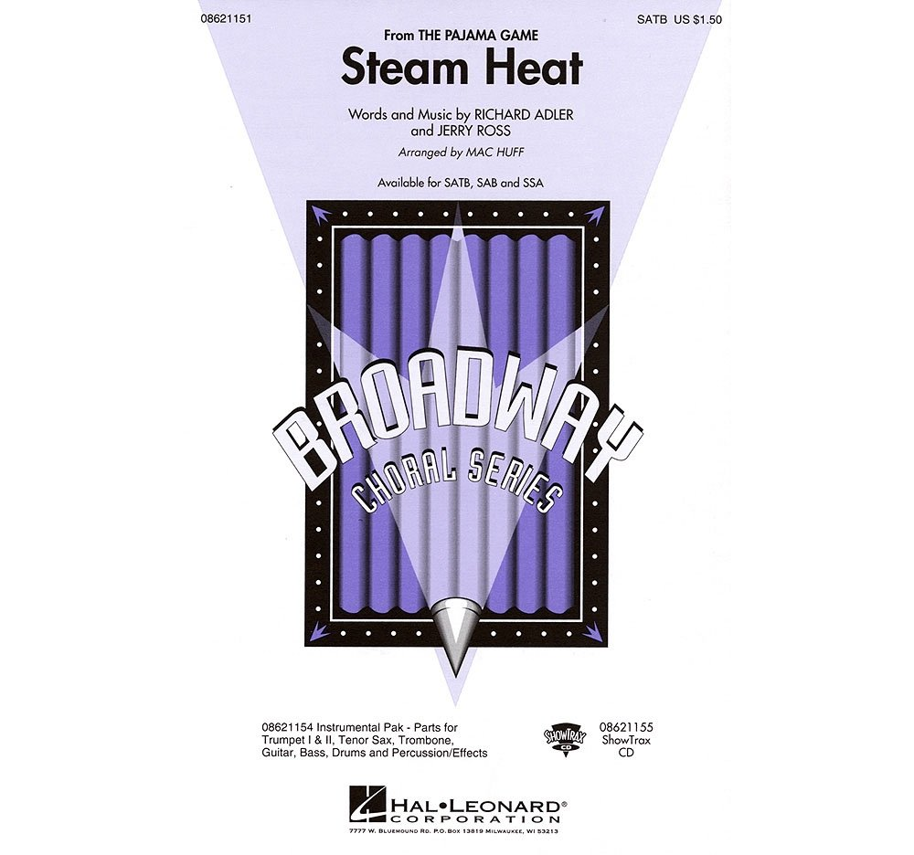 Hal Leonard Steam Heat (from The Pajama Game) SSA Arranged