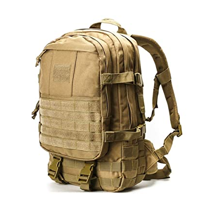GYZ Outdoor Mountaineering Bag Army Fan Unit Tactical Assault Bag Waterproof  Outdoor Mountaineering Hiking Backpack 35L 72a56c8f0ad7f