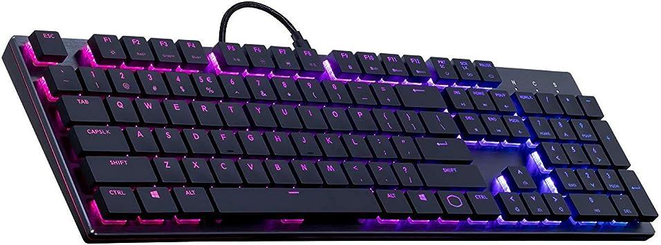 RGB cable de Máquinas de Juego teclado ergonómico del ...
