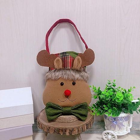 MMLsure Bolsa de la Compra Navidad, Manzana Funda, Navidad ...