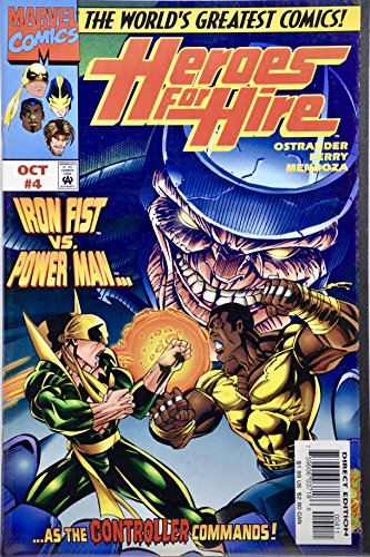 1997 - Marvel - Heroes For Hire #4 - Vintage Comic Book
