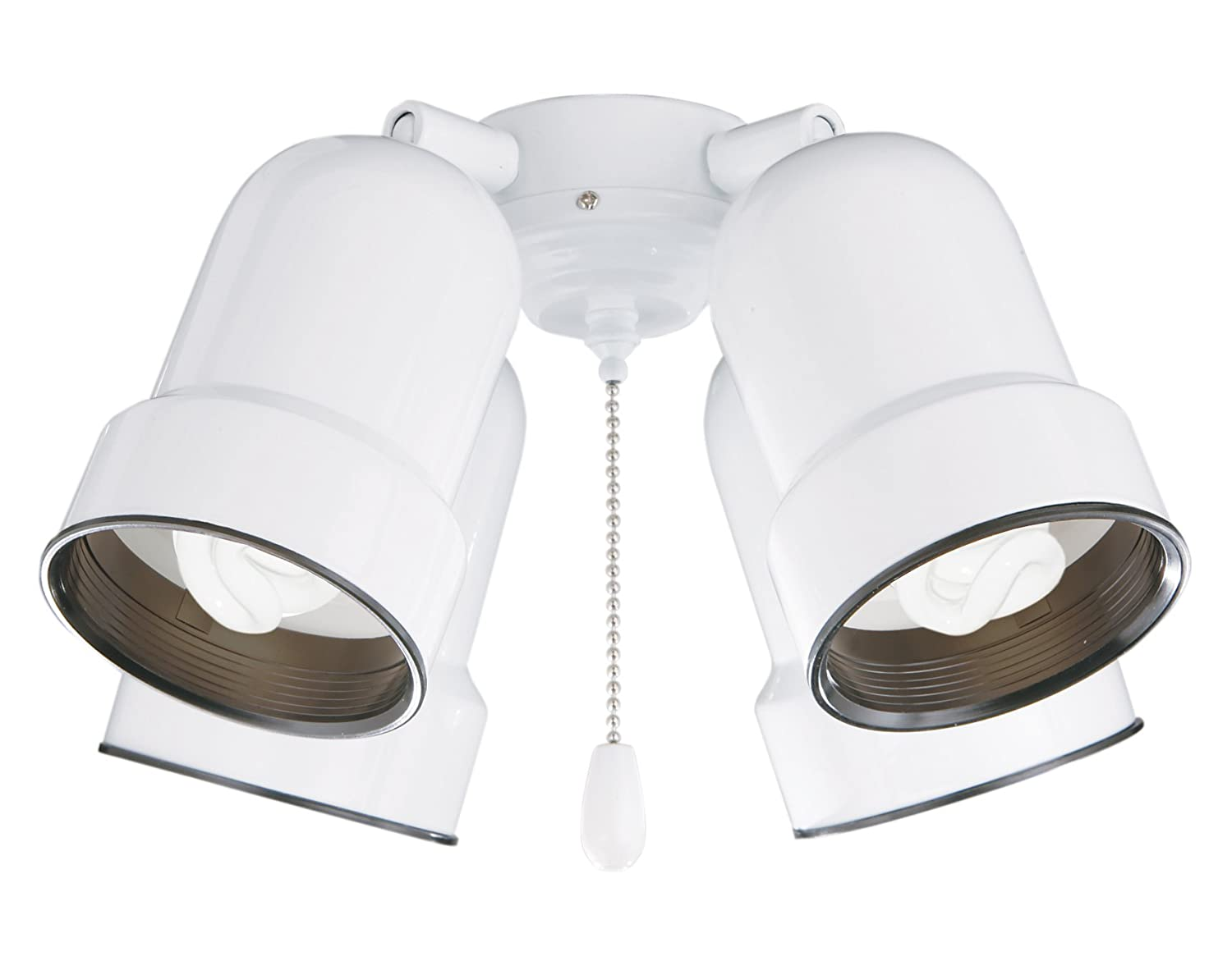 Emerson Ceiling Fans CFMLK4WW 4-Light Bullet Light Fixture with Adjustable Arms - Vanity Lighting Fixtures - Amazon.com  sc 1 st  Amazon.com & Emerson Ceiling Fans CFMLK4WW 4-Light Bullet Light Fixture with ... azcodes.com