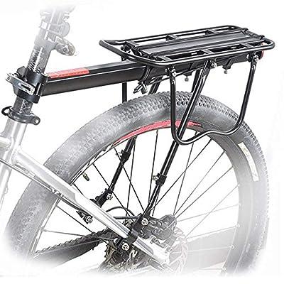 Bicycle Rear Seat Luggage Shelf Road Bike Alloy Frame Carrier Holder Cargo Racks