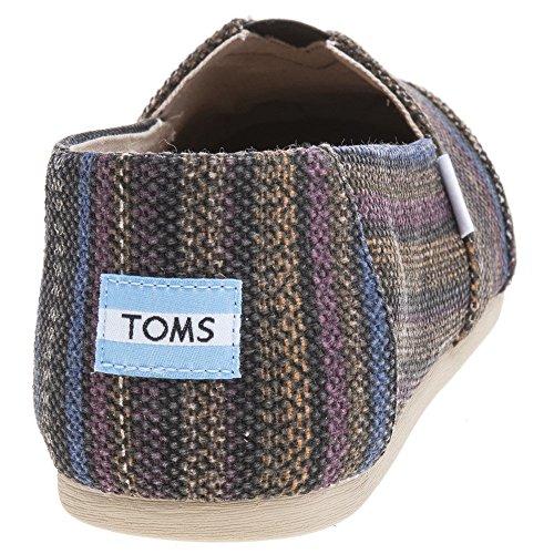 por Zapatillas de TOMS Seasonal Colores Mujer Canvas Alpargata Estar para Classics Casa Varios wxa61T