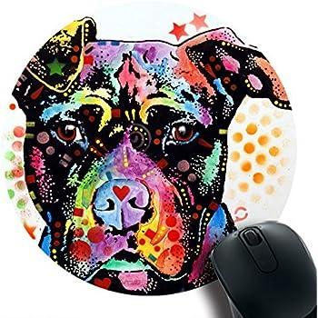 Mouse Pad Premium Office/&Gaming Design Beware Pit Bulls Eco Rubber NEW