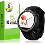 Motorola Moto 360 Sport Screen Protector, IQ Shield LiQuidSkin Full Coverage Screen Protector for Motorola Moto 360 Sport (6-Pack) HD Clear Anti-Bubble Film