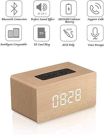 FENGCLOCK Réveil numérique portatif à Double conducteur
