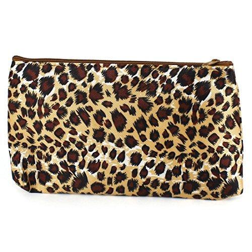 Amazon.com: Señora de maquillaje Negro Borgoña Leopard ...