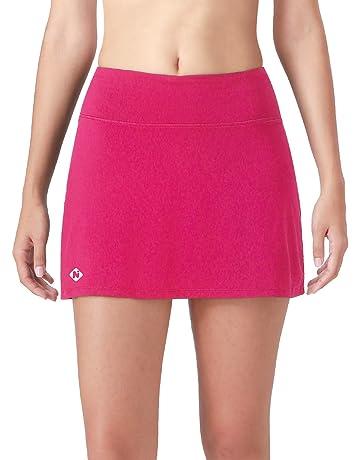 fa0dfd2dc0 Naviskin Women's Active Athletic Skort Lightweight Skirt with Pockets Inner  Shorts Perfect for Running Golf Tennis
