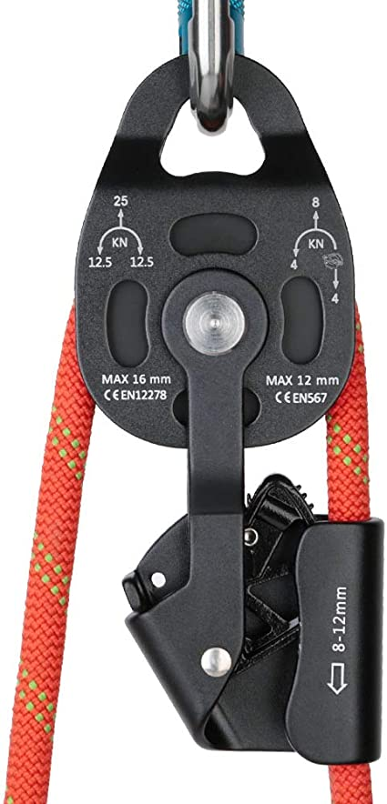 GYKFY Dispositivo de Ascenso de Arrastre de Escalada en Roca ...