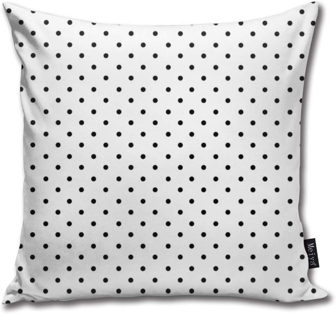 Throw Pillow Covers Minimal Small Black