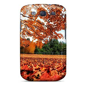 Galaxy S3 Case, Premium Protective Case With Awesome Look - Park In Autumn