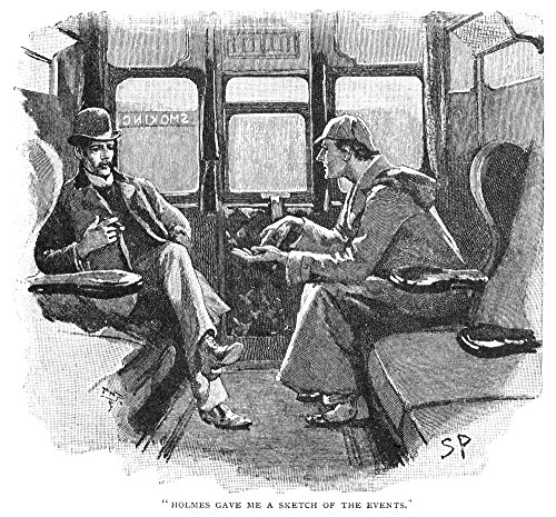 Doyle Sherlock Holmes 1892 Holmes Gave Me A Sketch Of The EventsNsherlock Holmes And Doctor John Watson Illustration By Sidney Paget From The Strand Magazine For Sir Arthur Conan DoyleS Story The Adve