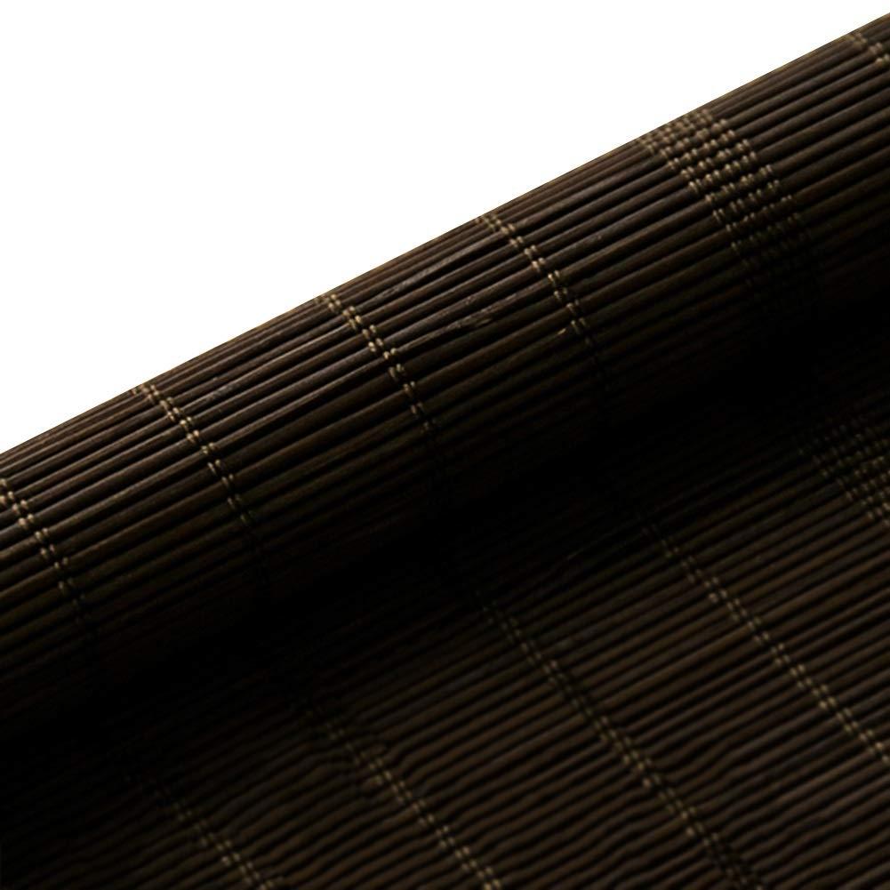 WUFENG 竹ブラインド 防水 アンチモールド シェーディング バックグラウンド 寝室 断つ 屋外 屋内 複数のサイズ カスタマイズ可能 150x300cm B B07GJMML3F