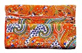 Pure Cotton Gudri New Kantha Stitch Quilt Floral Pattern Bed Spread Home Décor Kantha Reverssible Bedspread Stitch Gudri 60x90 Inch