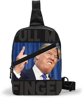 Trump Bolso Bandolera De Hombre Bolso Cruzada Hombre Bolsa De Pecho Sling Bag Crossbody Para Al Aire Libre Camping Ciclismo 227262941
