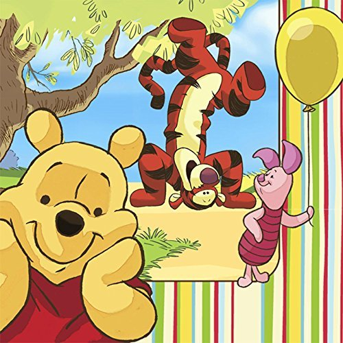 (Disney Pooh and Pals Lunch Napkins (16 count) Party Accessory)