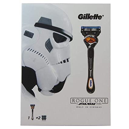 Gillette ProGlide Flexball Star Wars Rogue One - Set de regalo con maquinilla para hombre y