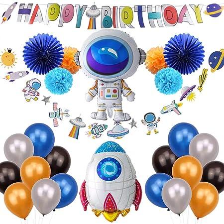 Easy Joy Space Birthday - Juego de Globos para cumpleaños ...
