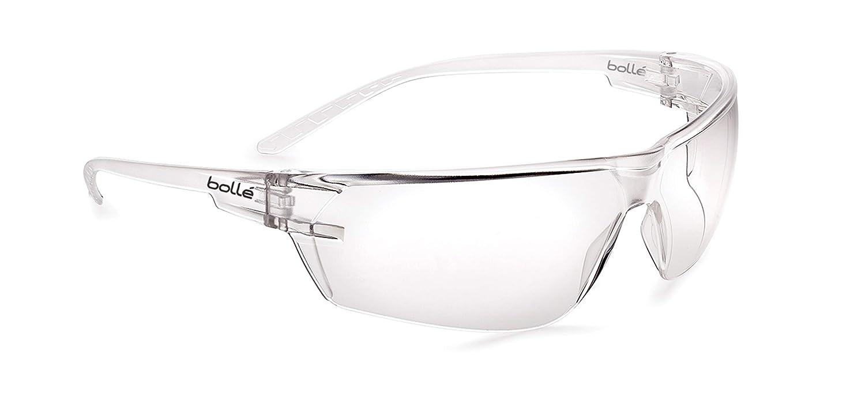Bollé Safety S10, PSSS10001,gafas de patillas, excelente campo de visión y resistentes al empañamiento, adecuadas para todo tipo de necesidades