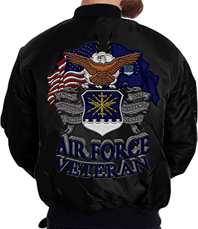 U.S Air Force 1947 MA-1 Flight Embroidered Bomber Jacket