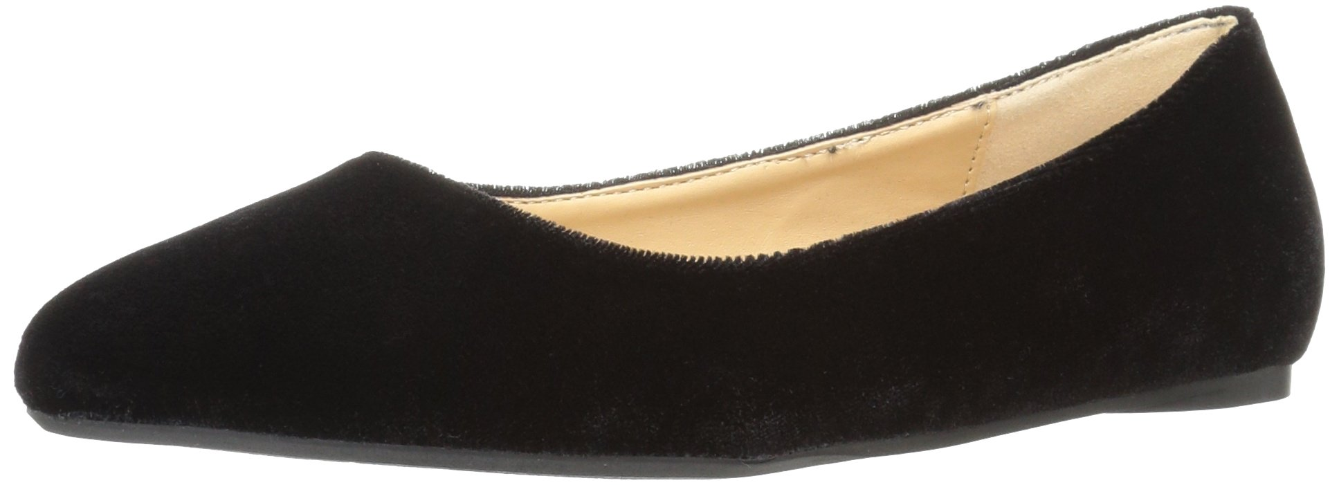 Penny Loves Kenny Women's Aaron Ballet Flat, Black Velvet, 8.5 M US