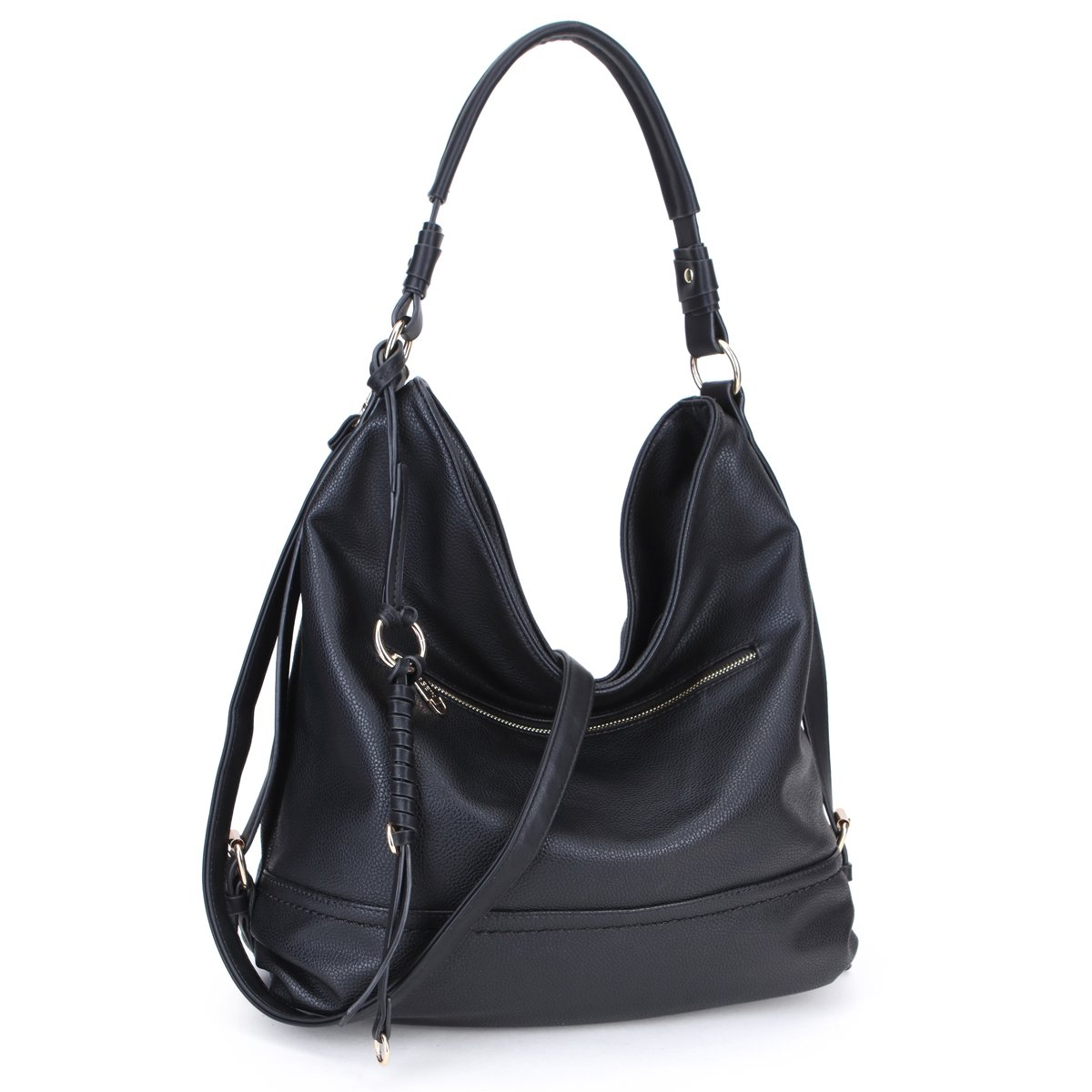 ee7a86af085 Amazon.com  DASEIN Women Handbags Top-Handle Fashion Hobo Tote Bags PU  Leather Shoulder Satchel Bags  Shoes