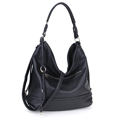 2f4f2ca239 Amazon.com  DASEIN Women Handbags Top-Handle Fashion Hobo Tote Bags PU  Leather Shoulder Satchel Bags  Shoes