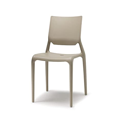 Scab Design Set 6 sedie Sirio Colore Tortora: Amazon.it: Casa e cucina