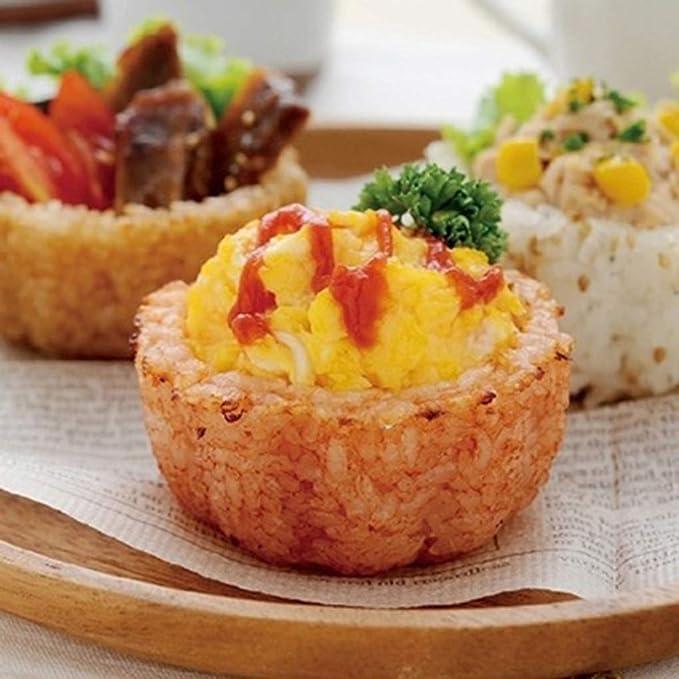 Dergtgh El Moho Taza de arroz cocido al Horno del Molde DIY Bola ...