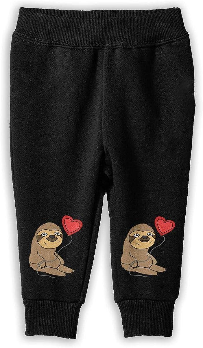 Udyi/&Jln-97 Balloon Sloth Unisex Kid Toddler Sweatpants Soft Cozy Baby Boy Elastic Trousers