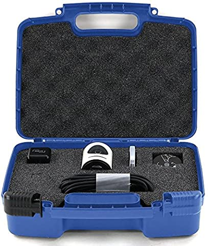 Hard Storage Carrying Case For Livestream Mevo Camera Live Event Fits Tripod, Mevo Boost, Battery Charger, USB Cable, Mount and Accessories - (Jvc Everio Sd Card)