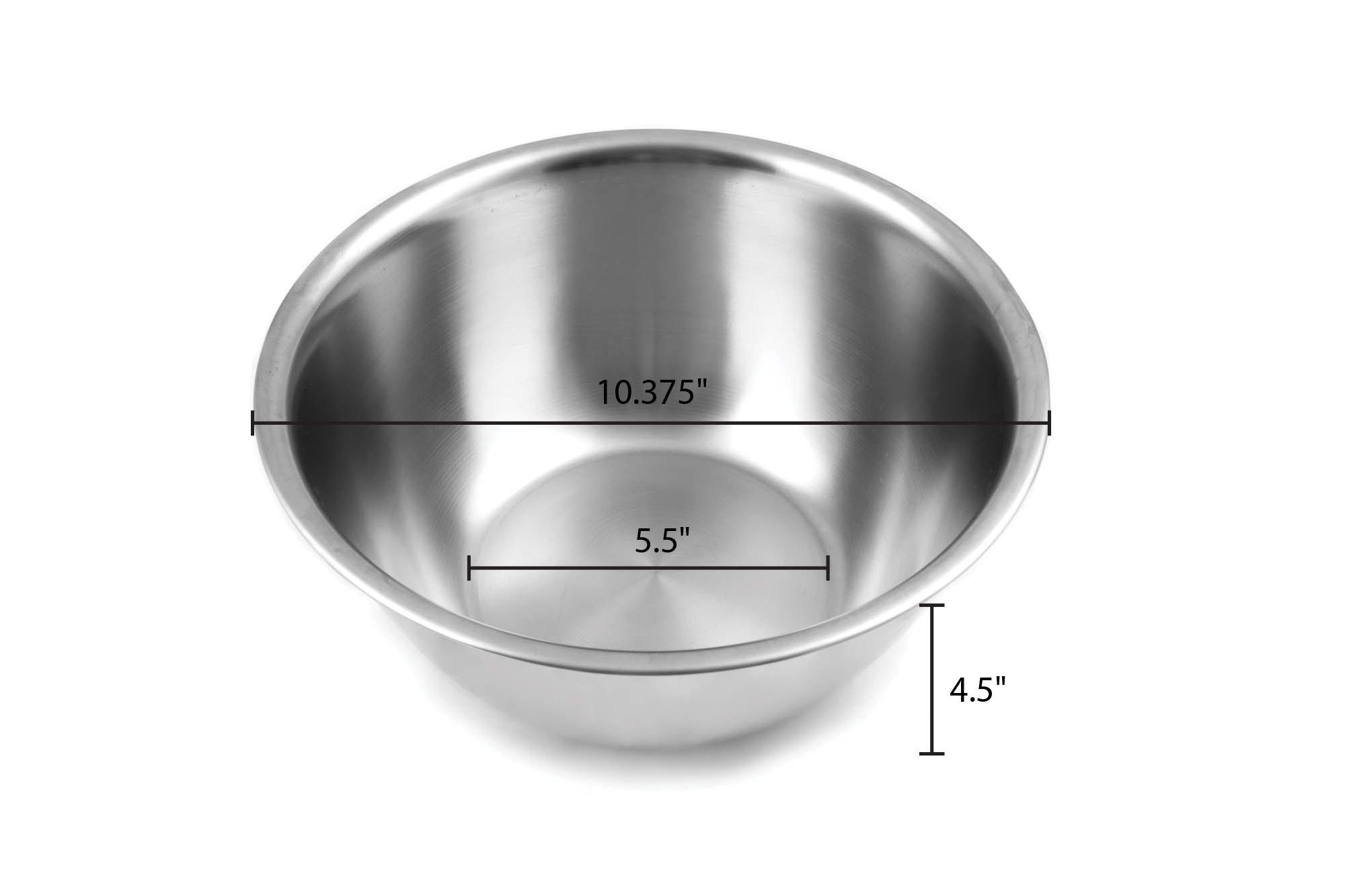 Fox Run 5-Quart Stainless Steel Mixing Bowl by Fox Run (Image #2)