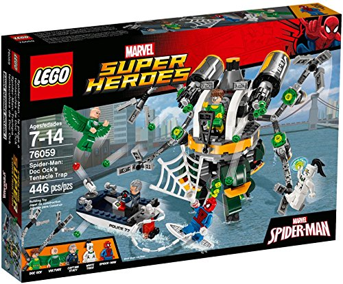 Hero Factory Costumes (LEGO Marvel Super Heroes Spider-Man: Doc Ock's Tentacle Trap)