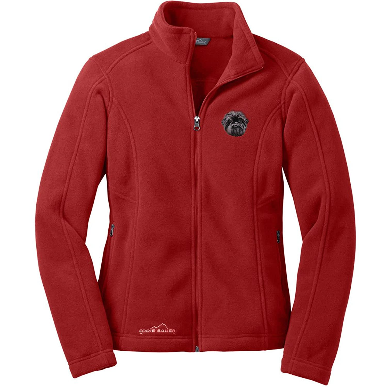 cherrybrook red rhubarb dog breed embroidered womens