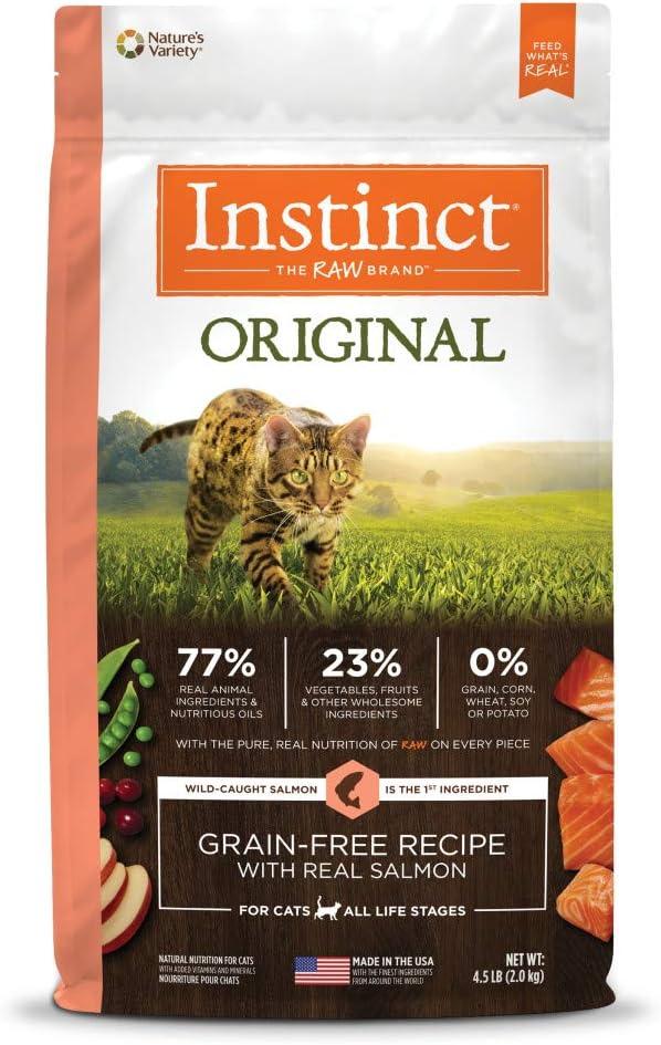 Instinct Original Grain Free Recipe Natural Dry Cat Food