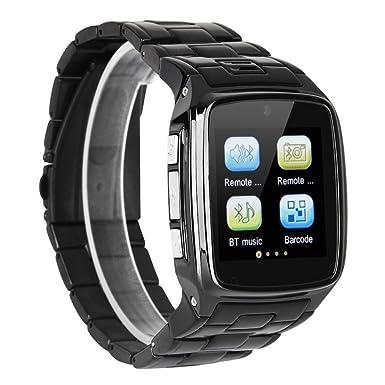 pudax 1.6 pulgadas tw810b pantalla Ouch Smart, Bluetooth reloj teléfono celular tw810b Quad Band cámara