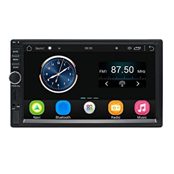 Reproductor MP5 2Din In-dash 7in pantalla táctil coche GPS Navegador Bluetooth FM/AM Radio MP5: Amazon.es: Electrónica