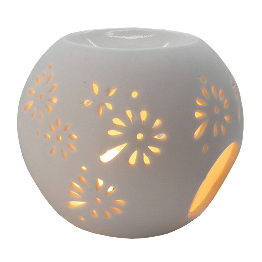 Classic Gifts& Decor Aromatherapy Essential AromaBurner Oil Diffuse Roundness Kylin Express