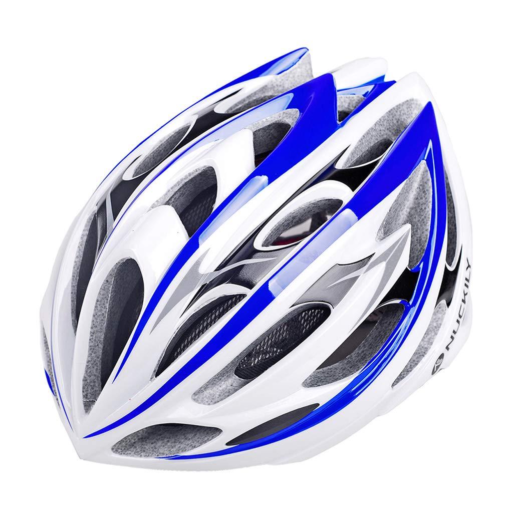 Lilongjiao Erwachsener radfahrender Fahrrad-Sturzhelm, umweltfreundliches Superlicht Integral Fahrrad-Schutz für Frauen und Männer, Justierbare Erwachsene Sicherheit schützen Sturzhelm im Freien