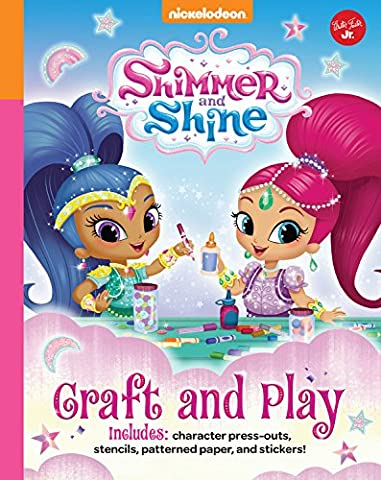 Nickelodeon's Shimmer and Shine: Craft and Play: Includes character press-outs, stencils, patterned paper, and - Shimmer Spiral