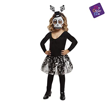 My Other Me - Halloween Calavera Disfraz, Multicolor, 3-6 años ...